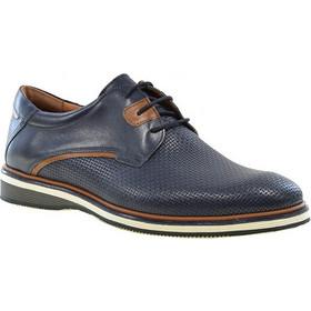 5ffaa4c10b Aνδρικά παπούτσια casual Damiani 752 μπλε δέρμα