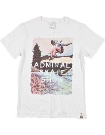 Admiral 1121400195 Salon T-Shirt Εκρού Admiral 1e8db5b7298