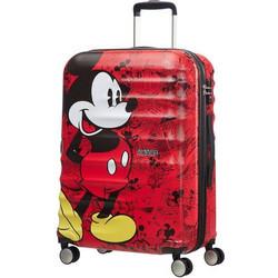 2498f0934c American Tourister Wavebreaker Disney 67cm 4 Wheels Mickey Comics