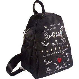 Cooway Bags Γυναικεία Τσάντα Backpack VALERINE -998-983 Μαύρο H6989989541  428526 6ab614e3544