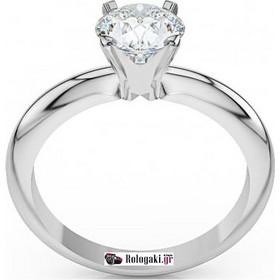 Λευκόχρυσο Κ18 μονόπετρο δαχτυλίδι αρραβώνα με μπριγιάν 0.30ct- LD016 edf1d0ddf1e