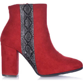 d02600c369a κοκκινα μποτακια - Γυναικεία Μποτάκια με Τακούνι Tsoukalas Shoes ...