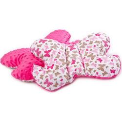 2adae98e1d9 Μαξιλάρι στήριξης για τον αυχένα & το κεφάλι του μωρού της sensillo Φούξια  Πεταλούδες Sensillo