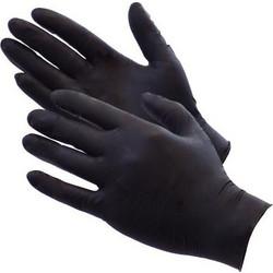 Γάντια Μιας Χρήσης Νιτριλίου Μαύρο SMALL 100τμχ ALFA GLOVES EXTRA STRONG d110ba02fa9
