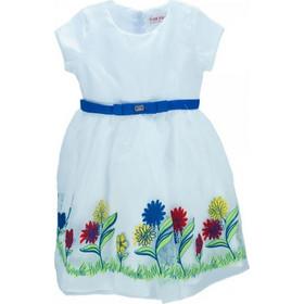 3b15e0042f7 Παιδικό Φόρεμα Εβίτα 186226 Λευκό Κορίτσι. Ebita