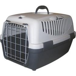 d1d03adc1f07 Κλουβί Μεταφοράς Σκύλου   Γάτας Gulliver No2 55 x 36 x 35 εκ. Χρώμα Γκρι