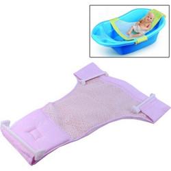 dd3d0714767 Safe Cushion Baby Bath Bed / Bathtub Bath Seat Baby Bath T Bed(Pink)