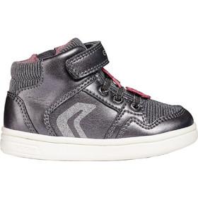 41db6a2a01c Geox παιδικά sneakers μποτάκια Baby Djrock Girl - B841WA - Γκρι