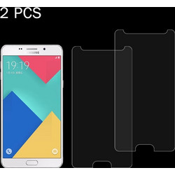 2 PCS for Galaxy A9 / A900 & A9 PRO 0.26mm 9H Surface Hardness 2.5