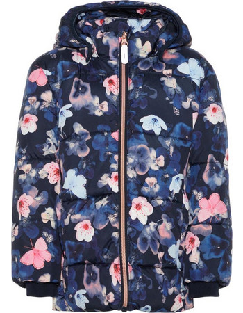 NAME IT Παιδικό Μπουφάν MAY PUFFER JACKET (13156218-Sky Captain) 75b99f32317