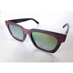 05b236b1c4d4 Γυαλιά Ηλίου Απομίμηση Ξύλου Καφέ με Φακό UV