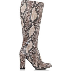 SNAKE PATTERNED BOOTS 698c76c9b27