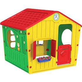 9521a4ed2ad Παιδικό Σπιτάκι Κήπου 140x108x115.5cm Galilee Village House Πολύχρωμο με  Κόκκινη Σκεπή STARPLAY