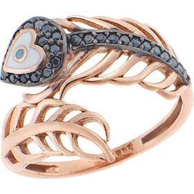 Δαχτυλίδι Κόσμημα Ροζ Χρυσό 14Κ με Ζιργκόν 325373c4eca
