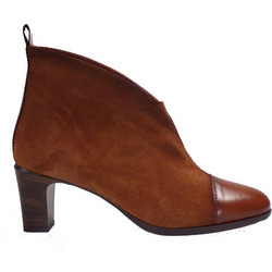 Hispanitas Γυναικεία Παπούτσια Mποτάκια HI87991 Ταμπά Δέρμα Kαστόρι 48693 ddb73d0ccdf