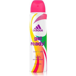 Adidas Get Ready! For Women Antiperspirant Spray 150ml