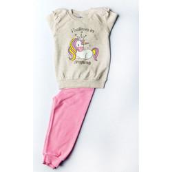 Dreams Βρεφική Πιτζάμα Κορίτσι Unicorn 18706 Μπεζ ca80279199f