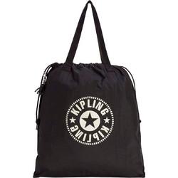 4cb9f7475c3 Kipling Τσάντα Ώμου Πτυσσόμενη Με Κορδόνι Hiphurray L Lively Black