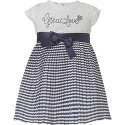 Βρεφικό Φόρεμα Boutique 44-218480-7 Λευκό Κορίτσι 817dd7bca13
