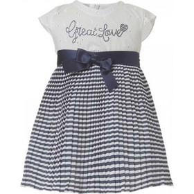 Βρεφικό Φόρεμα Boutique 44-218480-7 Λευκό Κορίτσι 41fb662f66b
