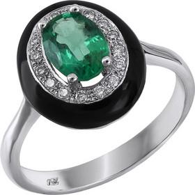 Δαχτυλίδι ροζέτα με σμαράγδι Κ18 029142 029142 Χρυσός 18 Καράτια fd38fdf1db5