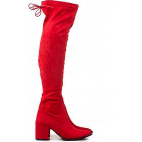 KB8622 Μπότες Over the Knee - ΚΟΚΚΙΝΟ 16475 c4fd09b69a2
