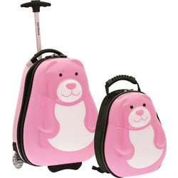 4497a2a436 Bartuggi 703-2099.2 Σετ 2τμχ Trolley Case + Backpack 35cm Pink