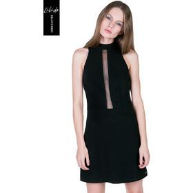 4f3baa5760a Toi Moi Libido: Φόρεμα με διαφάνεια στο στήθος - ΜΑΥΡΟ