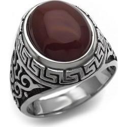 Δαχτυλίδι Ανδρικό με μπορντώ πέτρα 690df49ac35