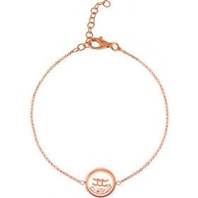 Βραχιόλι Ατσάλινο Loisir Σε Χρώμα Ροζ Χρυσό Από Την Συλλογή Sign Stars d9a424c9ca8