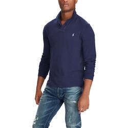 945e201b718a Polo Ralph Lauren ανδρική μπλούζα μακρυμάνικη πόλο μονόχρωμη - 710680790004  - Μπλε Σκούρο