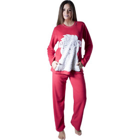 68287e0569c Πυτζάμα Fleece Harmony - Ζεστή & Απαλή - Ανάγλυφο Γούνινο Σχέδιο