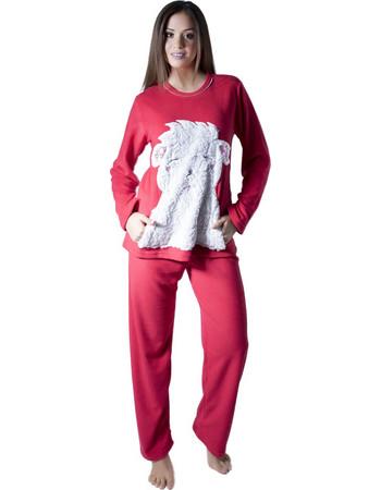 Πυτζάμα Fleece Harmony - Ζεστή   Απαλή - Ανάγλυφο Γούνινο Σχέδιο d693c34a269