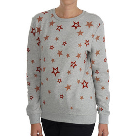 857cde8387ab MAISON SCOTCH Crew neck Artwork Sweater 146390