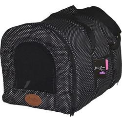 c31a27861404 Pet Camelot Πάνινη Τσάντα Μεταφοράς Σκύλου έως 5kg M Μαύρο