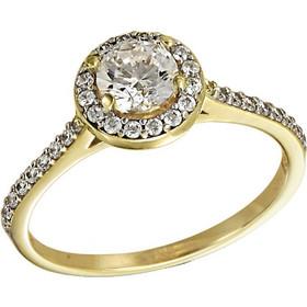 Δαχτυλίδι μονόπετρο χρυσό 14 καράτια με ορυκτό λευκό ζαφείρι swarovski(R) f8035729e1e