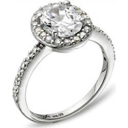 Δαχτυλίδι Vogue Diana ασήμι 925 ροζέτα με ζιργκόν 6b70be1745f