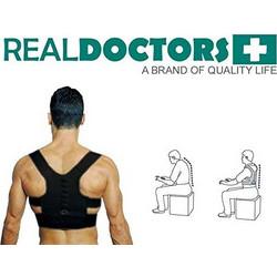 e37e5c95b9 Μαγνητική Ζώνη Υποστήριξης Πλάτης-Real Doctors Posture Support Brace