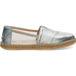 d93045b476 TOMS Classics Clear Translucent TPU Canvas Women s - Silver Clear - 10013521