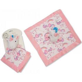 39eff23226a Πανάκι παρηγοριάς - αγκαλιάς unicorn Snuggle Baby GP-0905 Snuggle Baby