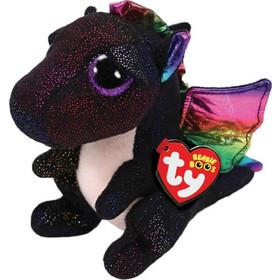 TY Beanie Boos Χνουδωτό Δράκος Μαύρος 15 εκ. 1607-36897 79c6a030d95