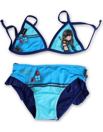 Παιδικό Μαγιό Μπικίνι Santoro Gorjuss Γαλάζιο-Μπλε Χρώμα 59b9bce29bc