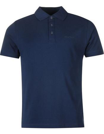 bc79c849209d Pierre Cardin Ανδρικό μπλουζάκι polo T-Shirt με κοντό μανίκι και κουμπιά σε  Navy χρώμα