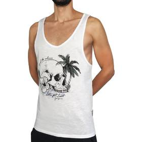 8d85818545b7 Ανδρικό αμάνικο μπλουζάκι LET S GET LOST - Λευκό