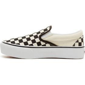 Vans Checkerboard Classic Slip-On Platform Shoes V0018EBWW e4e15542a97