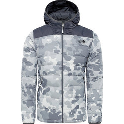 THE NORTH FACE Men s La Paz Hoodie Jacket - White macrofleck print 912e55e9494