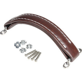 Adam Hall 3414BRN - Strap Handle Leatherette brown - Adam Hall