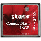 Kingston 16GB Compact Flash 266X Ultimate