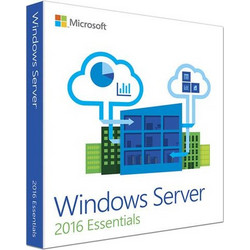 OS Microsoft Windows Server 2016 Essentials DSP 1-2 CPU Eng