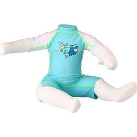 0ffa72d0a76 Κορμάκι κολύμβησης παιδικό σε 2 χρώματα Γαλάζιο 55UA-AWL